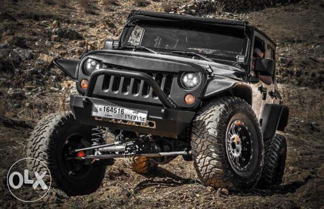 wrangler 2008 fully modified