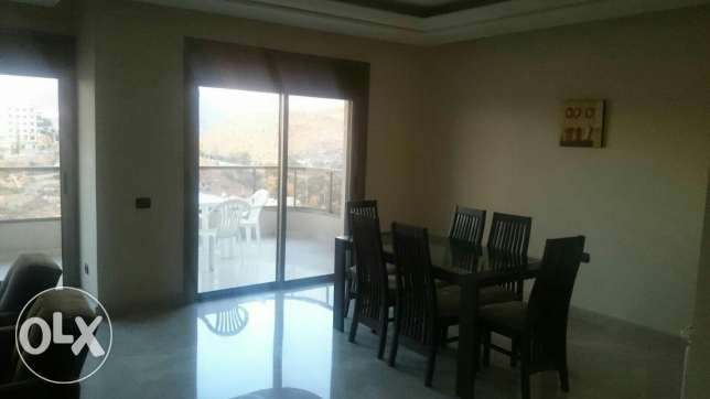 Aoukar, Furnished appartment in Awkar with sea and mountain view المتن -  3