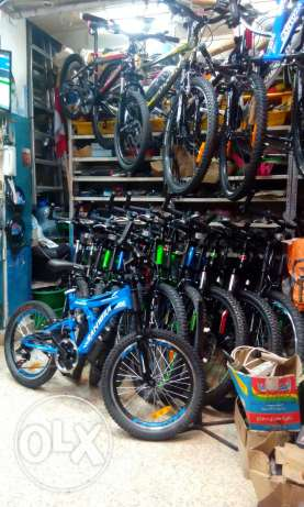 Bicycle for sale all brand santoza badger redline trekk scott smarter سن الفيل -  1
