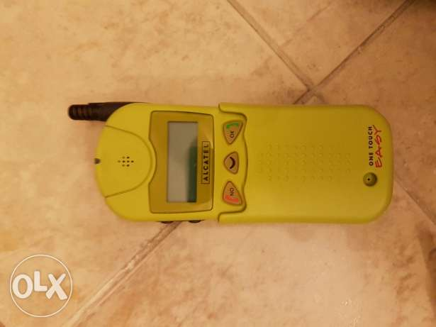 old and rare alcatel mobile still like new طبرجا -  1