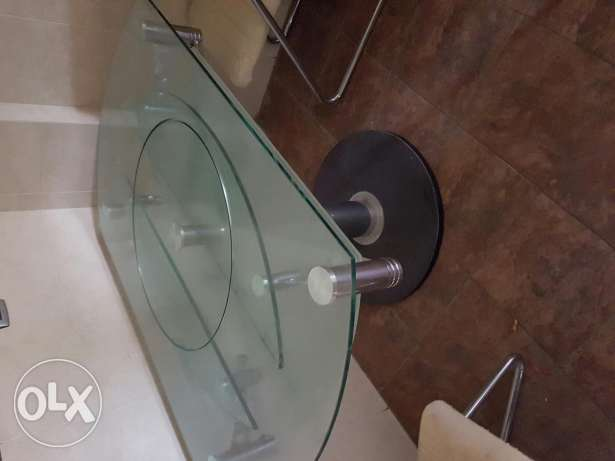 Glass table long/ short for nice price