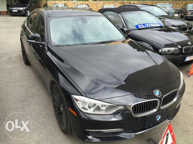 Bmw 328 luxury twin turbo black