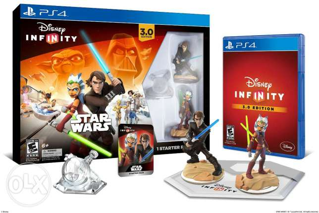 "Disney Infinity 3.0 (PS4) + 1 Marvel Character:""Ant Man"""