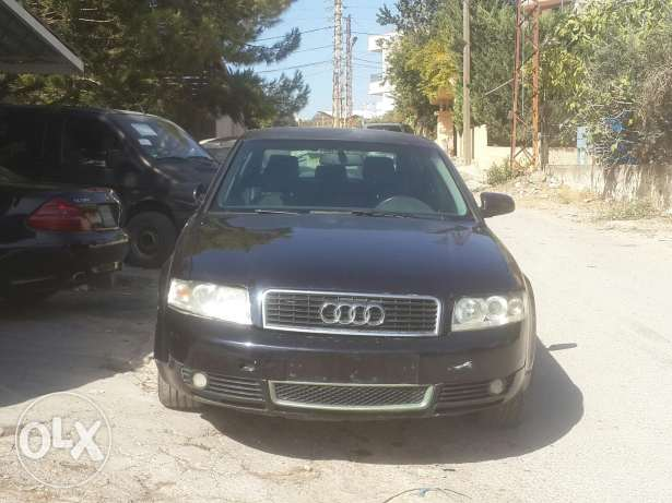 للكسر audi a4 full option ma badda shi حارة صيدا -  2