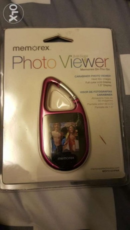 "Memorex photo viewer 2MB hold 50 images - full color 1.5"" LCD display"