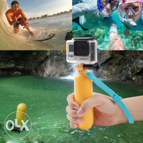 Hand floating Grip for action cameras