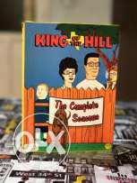 King Of The Hilla 9 Dvd's