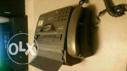 Panasonic phone and fax and copyer