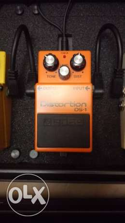 BOSS Guitar Pedals and Pedal Board الروشة -  2