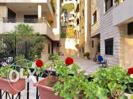 Apartment with Terrace in Mansourieh