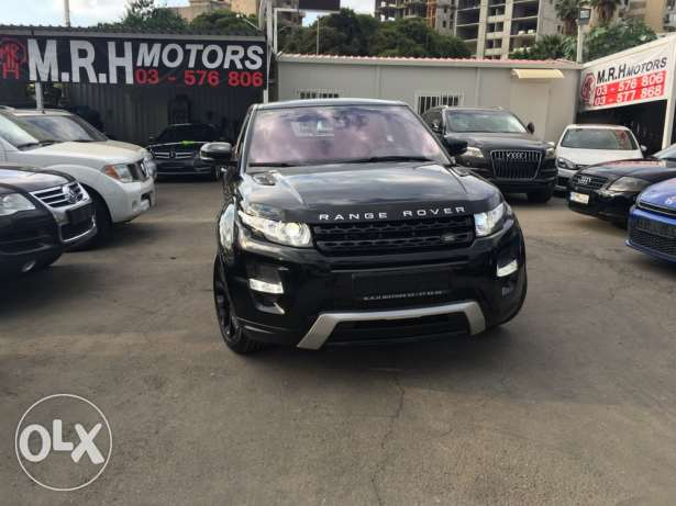 Stunning! Range Rover Evoque Dynamic Plus Black Edition Like New! بوشرية -  2