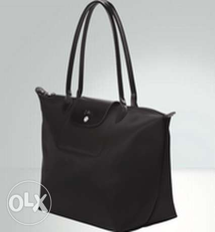 Longchamp Black Shoulder Bag