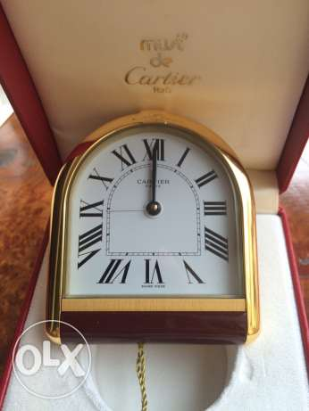 original Must De Cartier Paris clock