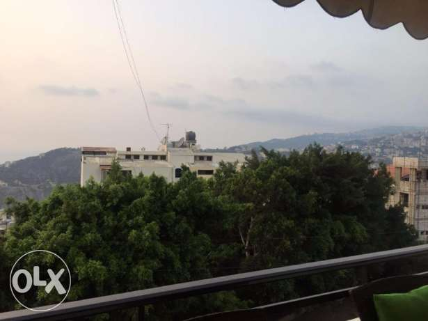 150 m2 furnished apartment for sale in Mazraat Yachouh (sea view)