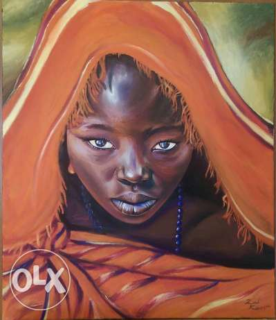 Africaine II by Zad