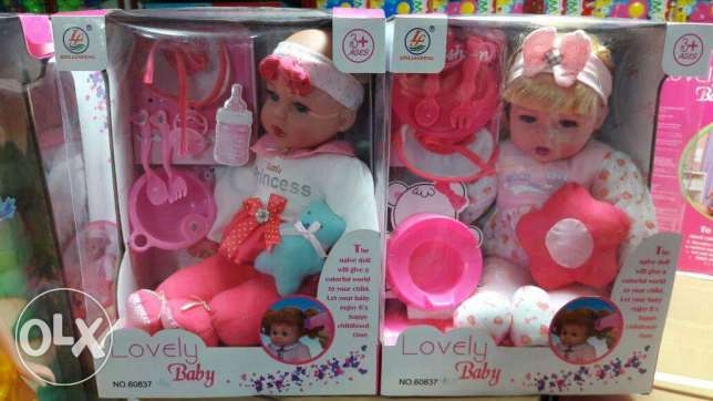 Lovely Baby toy age 3+