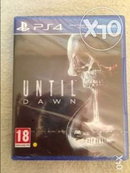 until dawn - ps4 game