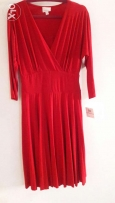 Brand new dress M to L size red long 115 cm
