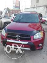 Toyota rav4 in a good condition full option