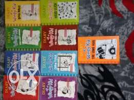 Diary of a wimpy kid books 1 to 9