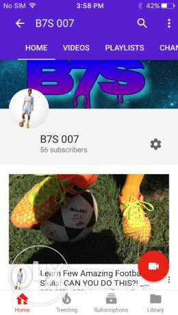 Subscribe my youtube channel to earn phone 5s (condition:new)