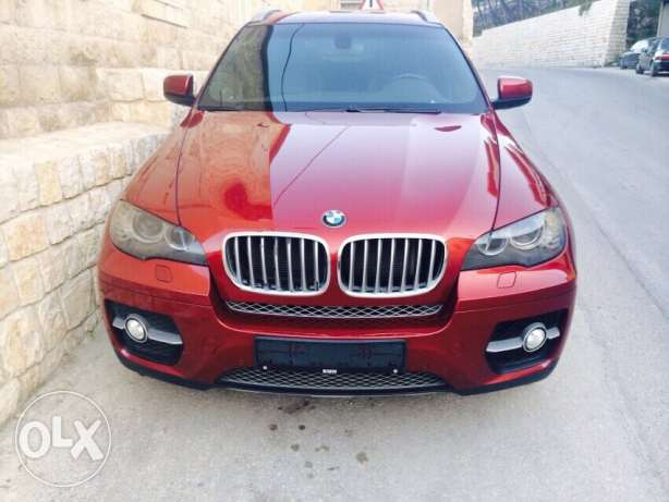 for sale x6 model 2008 full options verry clean