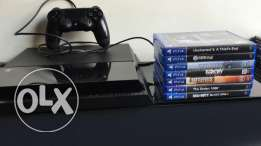 Great Offer : PS4 + 7 GAMES !