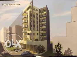 110 m2 under construction apartment for sale in Jal El Dib (sea view)