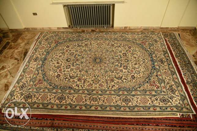 Persian nain carpet