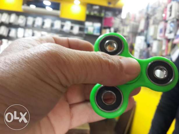 Stress relief fidget spinner