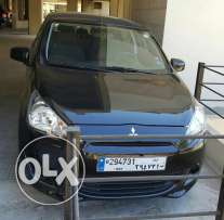 Mitsubishi Mirage 2014 Black