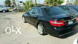 Mercedes E350 luxury package Amg kit 2010 ajnabieh very clean
