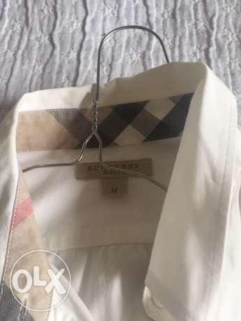 Burberry Brit white shirt / medium / authentic