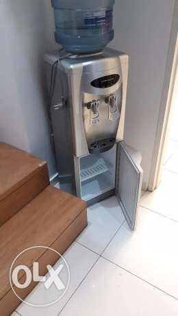 Water dispenser Campomatic with small fridge