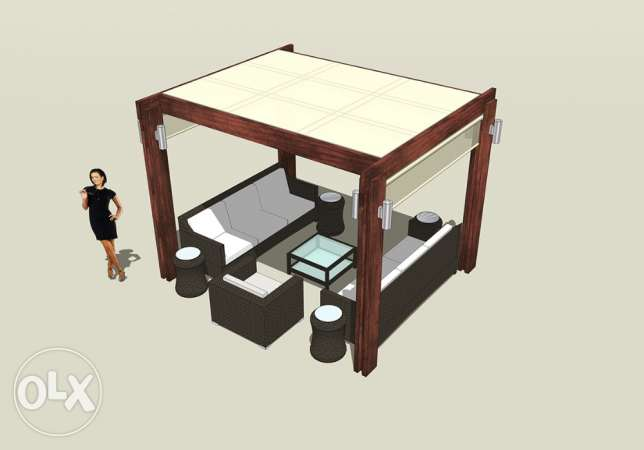 3D DESIGNER for your PERGOLA and outdoors انطلياس -  1