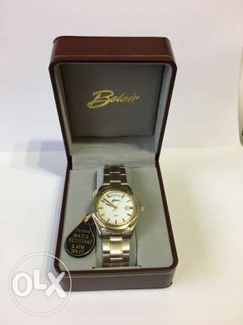 Belair two tone watch