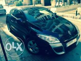 Renault Megane Coupe 2012/ Black/ Enhanced Speakers/ Great Condition