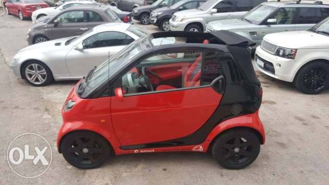 Smart passion for two 2004 cabriolet full options تقسيط عبر بنك
