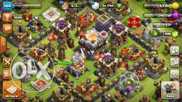 Clash of clans Town hall 11/1886 gems