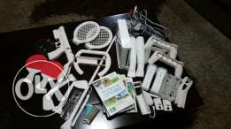 Wii for sale with all it' s accesories at a very reasonable price