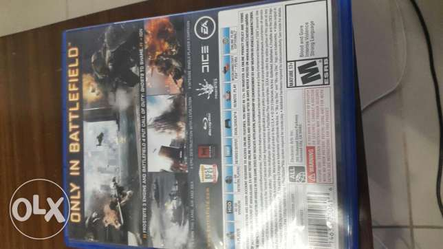 Ps4 battlefield game like new انطلياس -  2