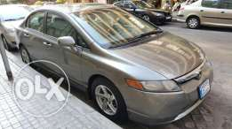 Honda Civic Model 2007, automatic, fully optioned, airbag, super clean