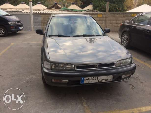 Honda accord model 90 ac auto hydrolic ktir ndife المعرض -  7