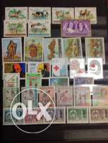 12 sets of Lebanon mint stamps