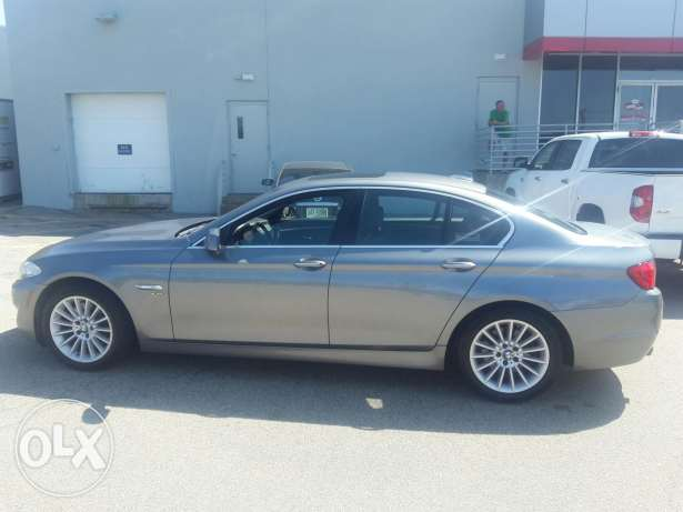 BMW 535i 2011 Ajnabiye Premium package خارقة جبيل -  3