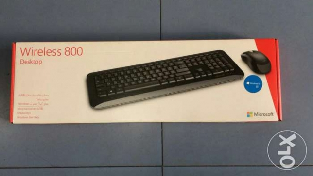 Original Microsoft wireless keyboard set