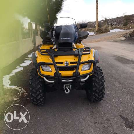atv can am outlinder 800cc