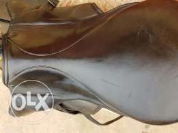 Saddle made in Germany Handmade leather