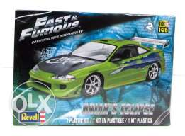 1/25 Mitshubishi eclipse Fast and furious edition scale model unbuilt