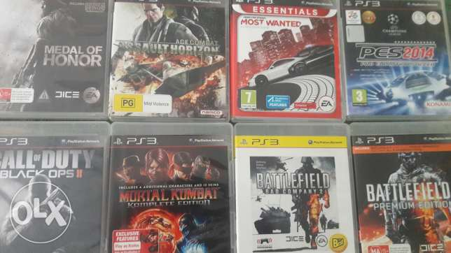 Ps3 Cds For Sale الميناء -  1